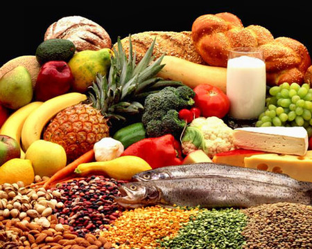 Cần phối hợp nhiều chủng loại thực phẩm.