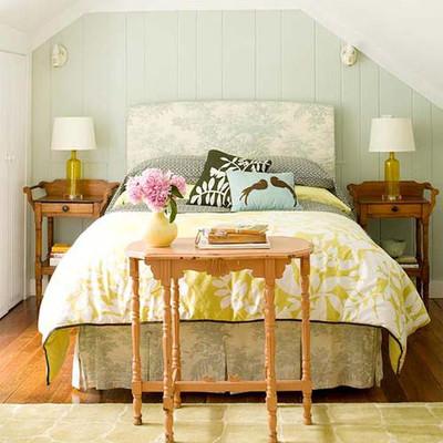 Chỉ cần một chút thay đổi bạn đã có ngay một không gian mới cho phòng ngủ của mình.