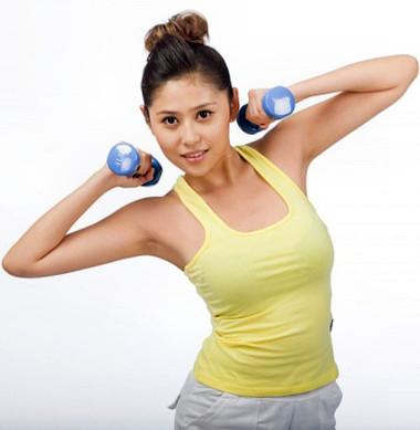 Tập tạ có thể giúp phụ nữ giữ mãi tuổi thanh xuân.