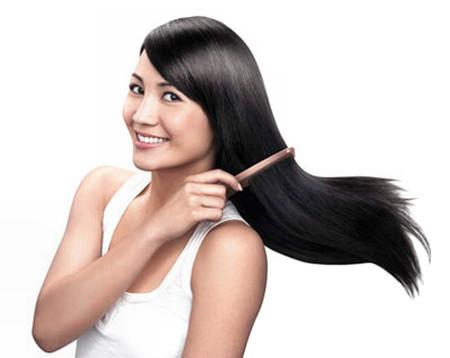 Tóc đẹp nhờ phương pháp tự nhiên.