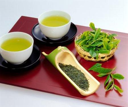 5. Uống trà xanh 1