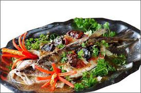 Cá chép hấp tương gừng - món ăn rất ngon và bổ.