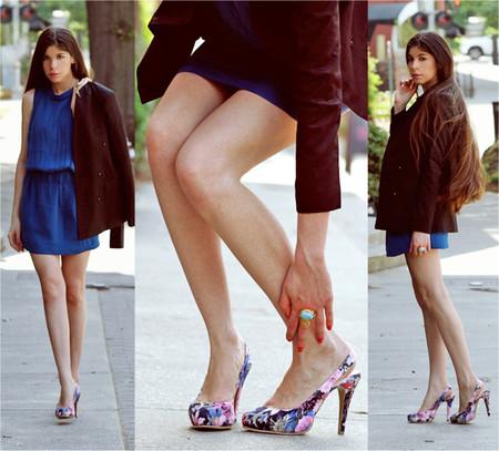 Phong cách lãng mạn với giầy