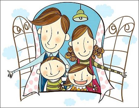 Với con gia đình là yêu thương