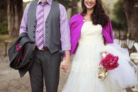 Những kiểu áo khoác nhẹ nhàng cho cô dâu trong tiết thu 5