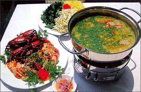 Lẩu cua đồng hải sản - món ngon mà dễ làm - Nội Trợ - Các món ăn ngon - Dạy nấu ăn gia đình