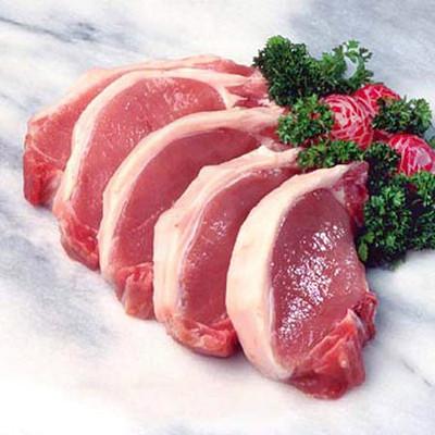 Thịt đạt chất lượng an toàn thực phẩm.