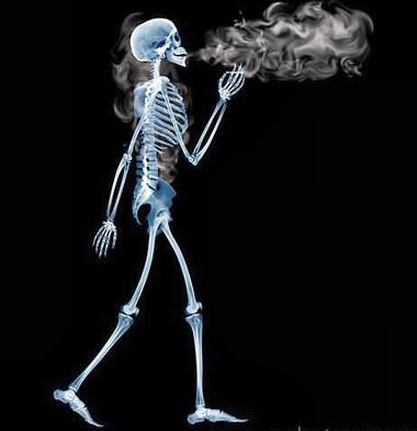 Hút thuốc lá có hại cho sức khỏe.