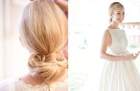Những kiểu tóc cô dâu mới nhất mùa Thu 2012 1