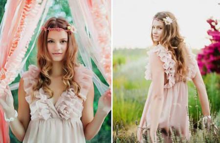 Những kiểu tóc cô dâu mới nhất mùa Thu 2012 11