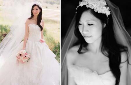 Những kiểu tóc cô dâu mới nhất mùa Thu 2012 12
