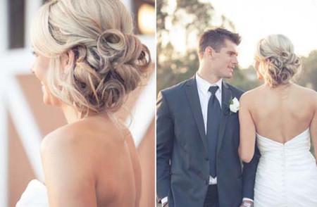 Những kiểu tóc cô dâu mới nhất mùa Thu 2012 3