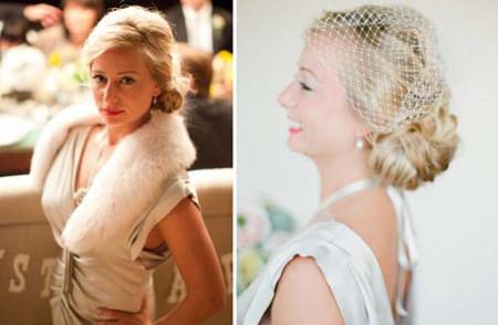 Những kiểu tóc cô dâu mới nhất mùa Thu 2012 5