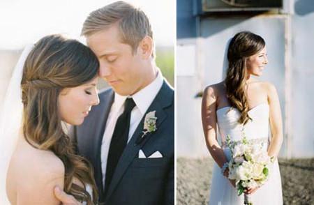 Những kiểu tóc cô dâu mới nhất mùa Thu 2012 8