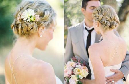 Những kiểu tóc cô dâu mới nhất mùa Thu 2012 7