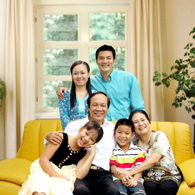 Không cần phải kết hôn tôi vẫn có một gia đình hạnh phúc.