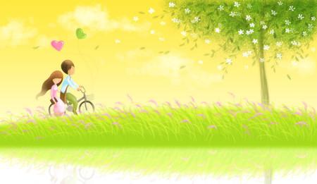 Tình yêu của chúng tôi đầy màu hồng, chúng tôi đã mơ đến ngôi nhà hạnh phúc với những đứa trẻ