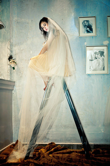Chọn khăn von cho cô dâu đẹp hoàn hảo 1