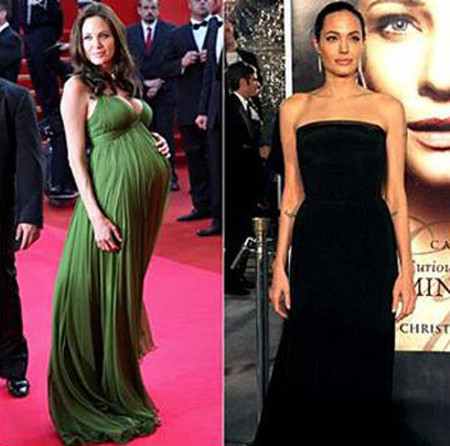 7. Angelina Jolie 1