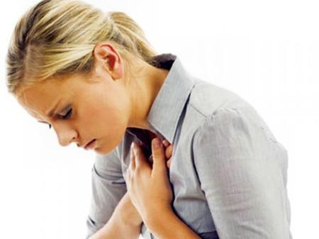 Bệnh tim rất dễ tấn công phụ nữ.