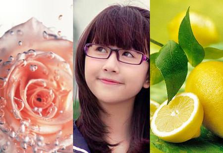 6. Nước cốt chanh và nước hoa hồng 1