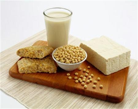 Thực phẩm làm từ đậu tương có tác dụng giảm đáng kể nồng độ cholesterol toàn phần.