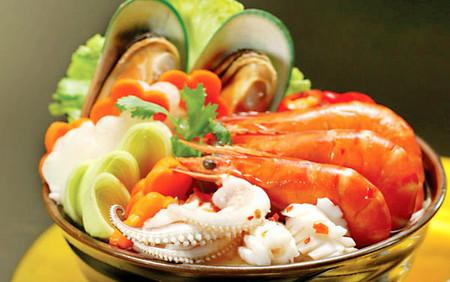 Hải sản đem lại nhiều lợi ích cho sức khỏe.