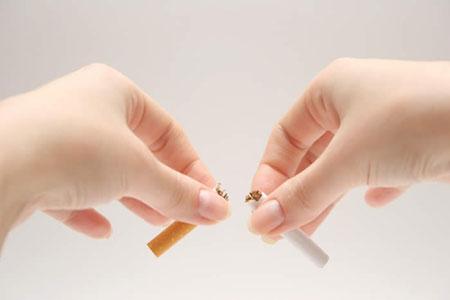 Từ bỏ thuốc lá để bảo vệ sức khỏe của bạn.