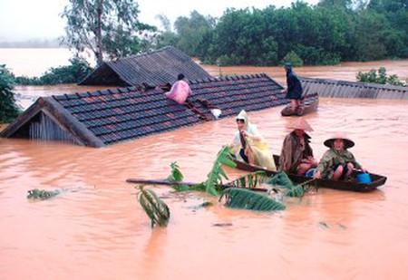 Lũ lụt ngày càng xảy ra nhiều hơn