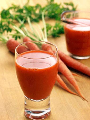 Nước ép cà rốt 1