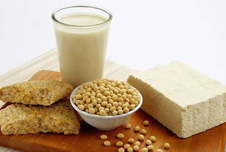 Sữa đậu nành rất giàu dinh dưỡng.