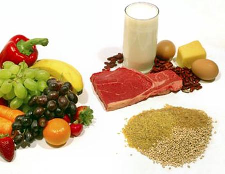 Cung cấp vi chất sắt qua thực phẩm.