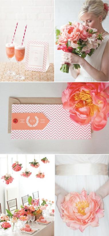 Một số mẫu hoa cưới từ hoa mẫu đơn 19