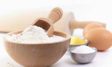 7. Mặt nạ bột mì+ chanh 1