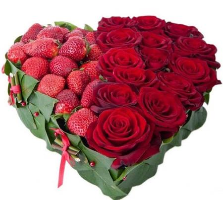 Cắm hoa hình trái tim cho tình yêu của bạn 1