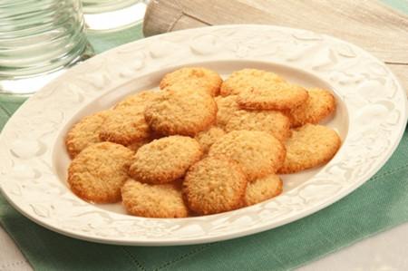 Bánh quy hạnh nhân thơm ngon và hấp dẫn.