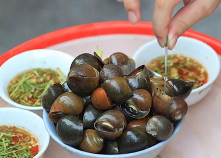 Các món ăn từ ốc là phương thuốc phục hồi sức khoẻ nhanh chóng.