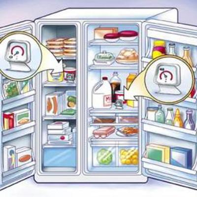 Sắp xếp và bảo trì tủ lạnh đúng cách.