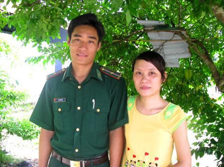 Hạnh phúc của vợ chồng Hiền Hà phải trải qua bao khó khăn thử thách.