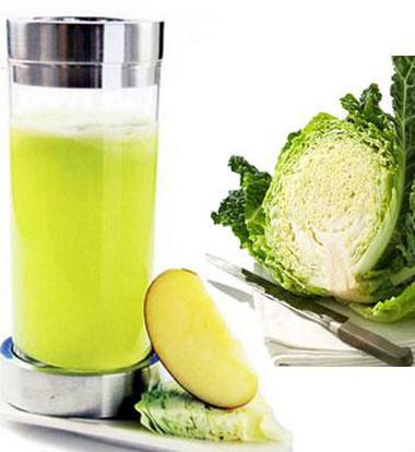 Nước ép bắp cải rất có lợi cho phụ nữ mang thai.
