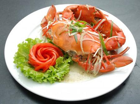 Thịt cua chứa nhiều chất dinh dưỡng.
