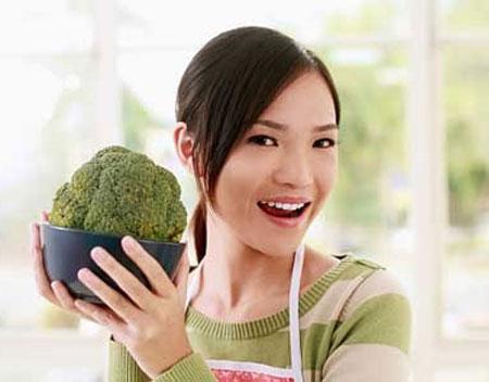 Những người chỉ ăn rau quả có thể có cuộc sống tình dục tốt hơn những người ăn thịt.