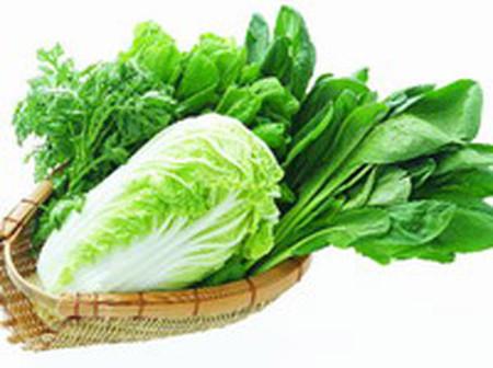 Thay đổi nhiều loại rau để đảm bảo dưỡng chất.