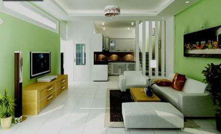 Khi chọn màu sơn cho nhà, ngoài yếu tố thẩm mỹ và màu sắc theo mệnh cung của gia chủ.