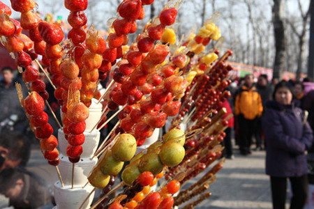 Nhớ Bắc Kinh với kẹo Hồ Lô ngọt ngào và giản dị 3