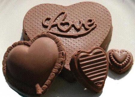 Chocolate là quà tặng ngọt ngào bán chạy nhất vào dịp Giáng sinh, lễ tết.