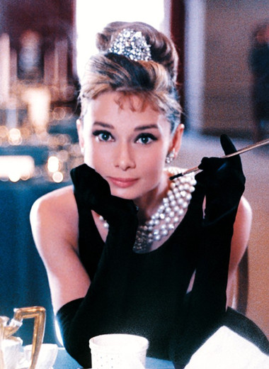 2. Audrey Hepburn (Breakfast at Tiffany's) 1