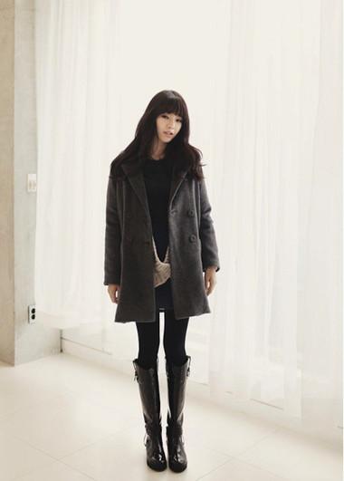3. Boots cao cổ + Legging/jeans bó - Tiểu thư kiêu kì 1