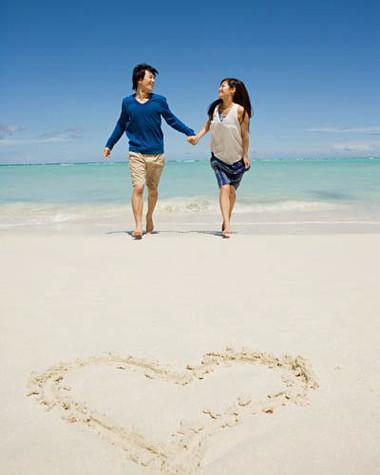 Tôi và anh đã có những ngày tháng thật lãng mạn bên nhau.