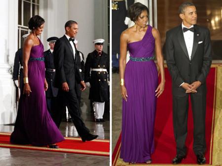 10 chiếc váy ấn tượng của đệ nhất phu nhân Mỹ - Michele Obama 10